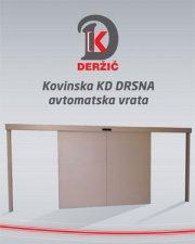 Kovinska KD DRSNA avtomatska vrata